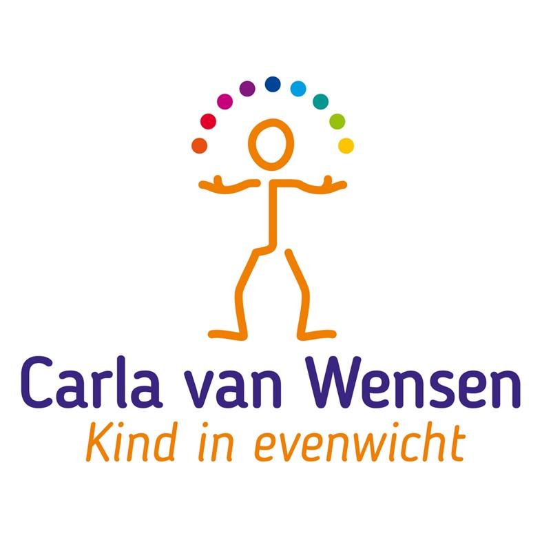 logo carla van wensen kind in evenwicht